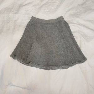 ABERCROMBIE & FITCH grey skirt